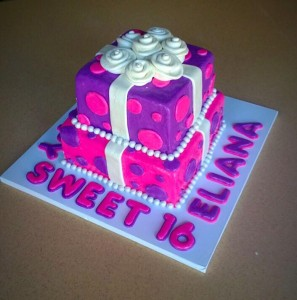 Pink and Purple Sweet 16